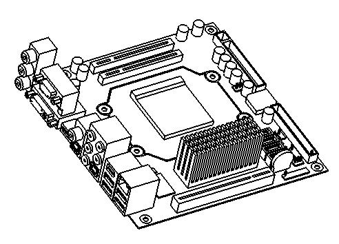 Motherboard Drawing At Getdrawings Com