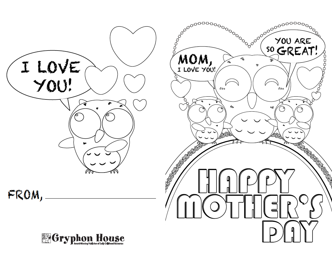 Mothers day card drawing at getdrawings free for personal use 1058x816 print your own mother39s day card maxwellsz