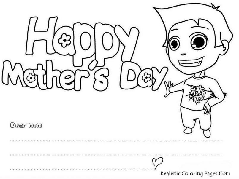 805x604 Family Printable Mothers Day Cards With Printable Mothers Day