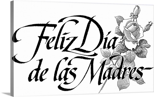 540x341 Happy Mothers Day In Spanish Great Big Canvas