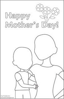 Mothers Day Drawing Pictures