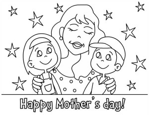 300x232 Mothers Day Pictures To Draw Happy Mothers Day