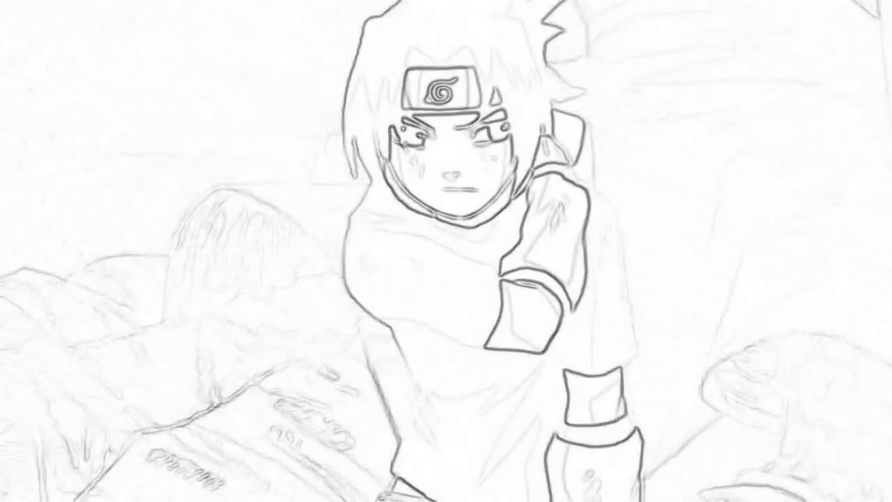 1280x720 Drawing Animenaruto Animation Slow Motion