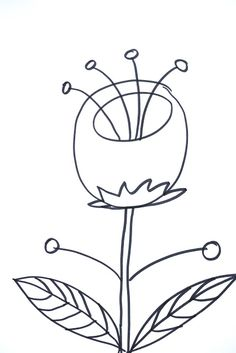 236x353 Lettering Line Drawing Motivation How To Draw Flowers 37