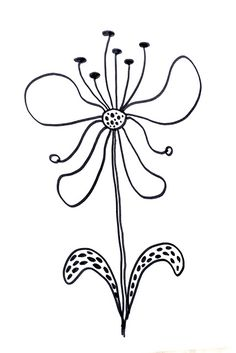 236x353 Lettering Line Drawing Motivation How To Draw Flowers 55