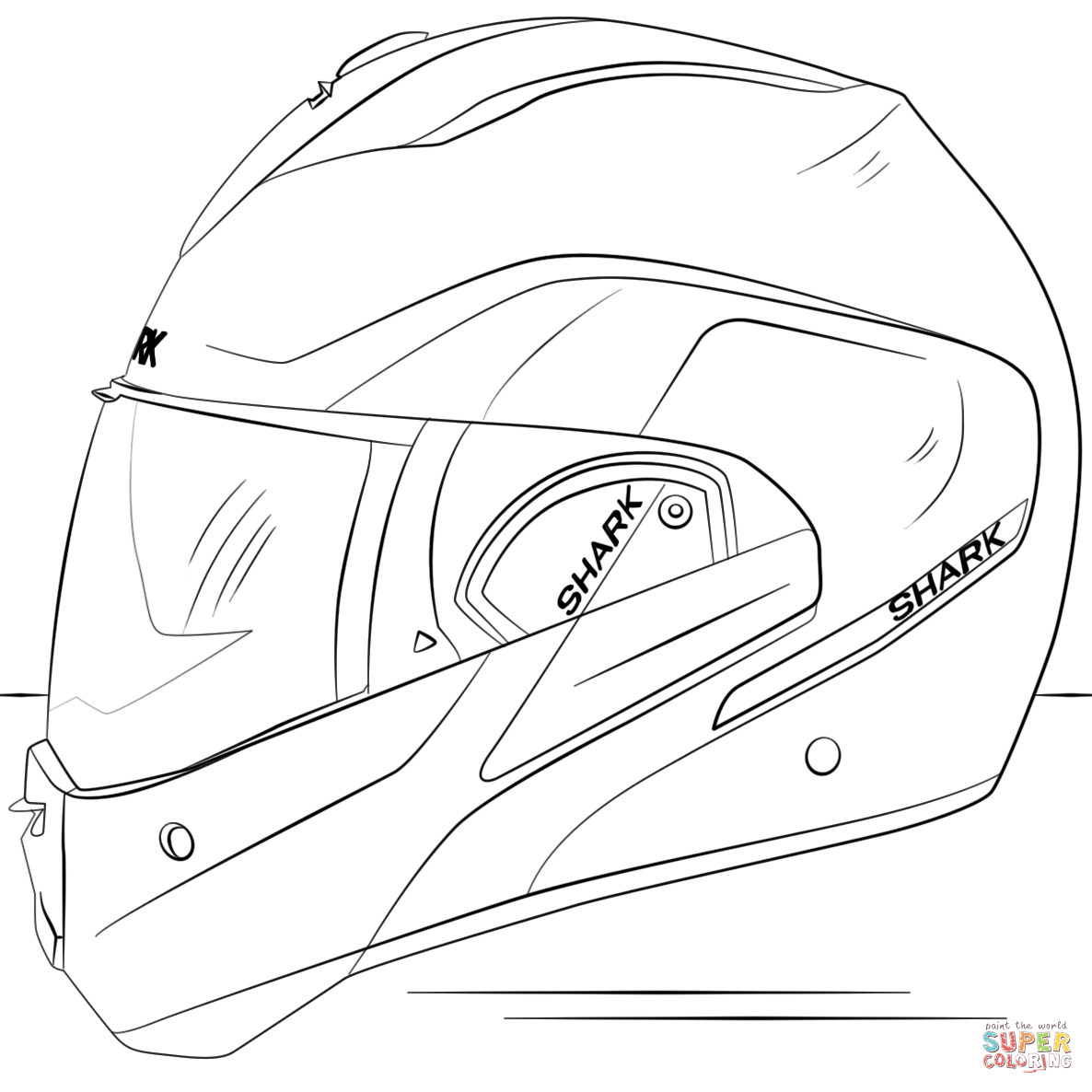 motocross helmet drawing at getdrawings com