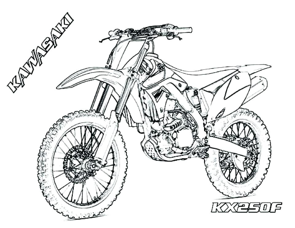 960x742 New Yamaha Dirt Bike Coloring Pages For Dirt Bike Coloring Page
