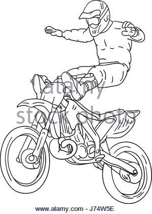 300x422 Illustration Of A Motorcycle Race Stock Vector Art Amp Illustration