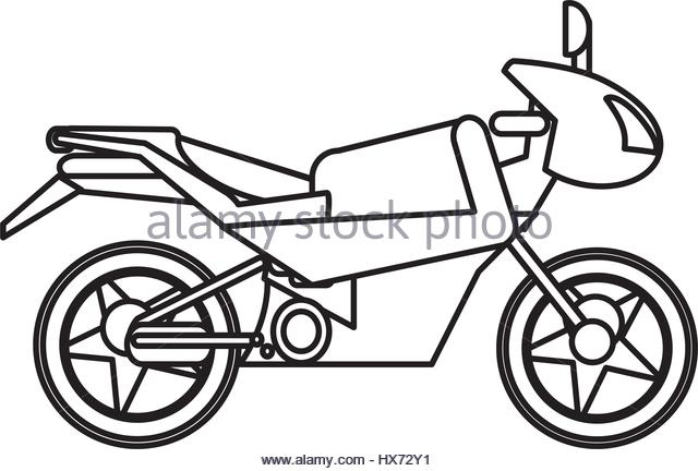 640x432 Outline Of Scooter Stock Photos Amp Outline Of Scooter Stock Images