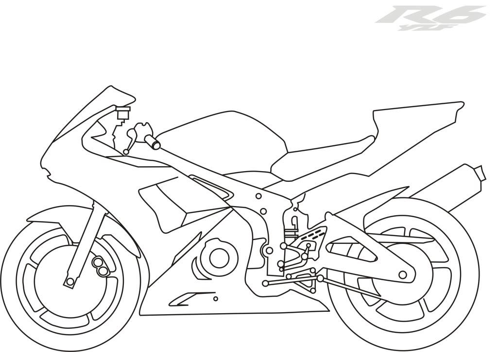 1023x726 Yamaha Coloring Pages Yamaha Dirt Bike Coloring Pages