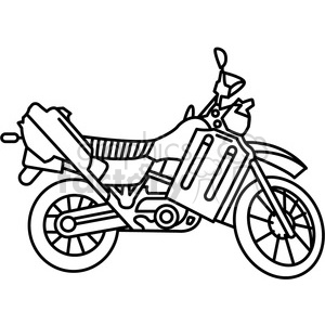 300x300 Scooter Outline Stock Vector 16195885. Motorcycle Racing Hand