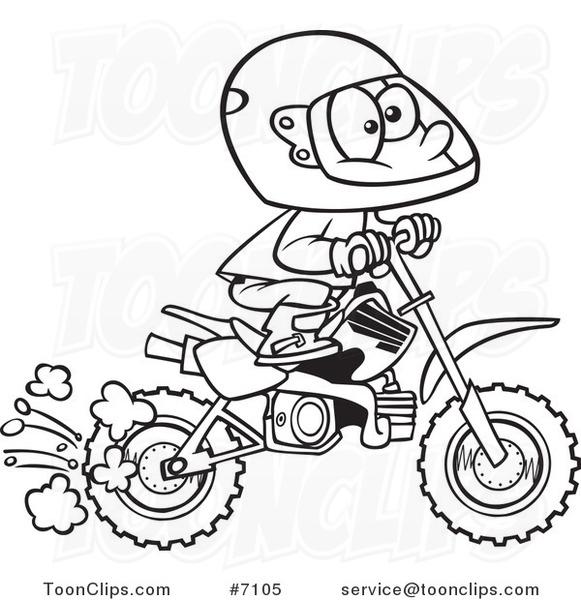 581x600 Cartoon Dirt Bike Pictures Group