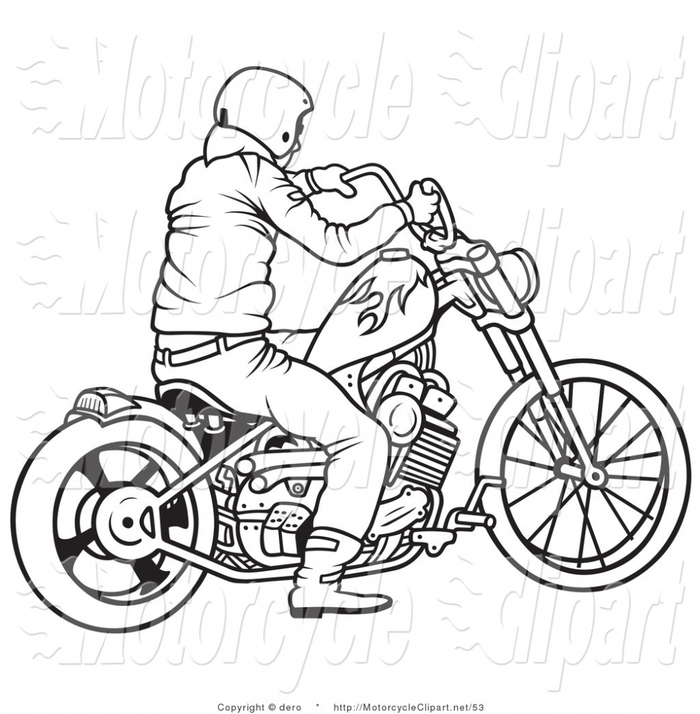 1004x1024 Cartoon Motorcycle Drawings Black And White Cartoon Motorcycles
