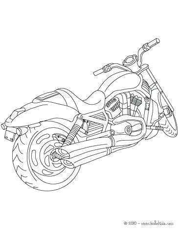 364x470 Harley Davidson Coloring Book And Biker Motorcycle Chopper Skull