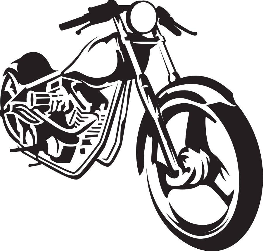 900x860 Chopper Bike Svg