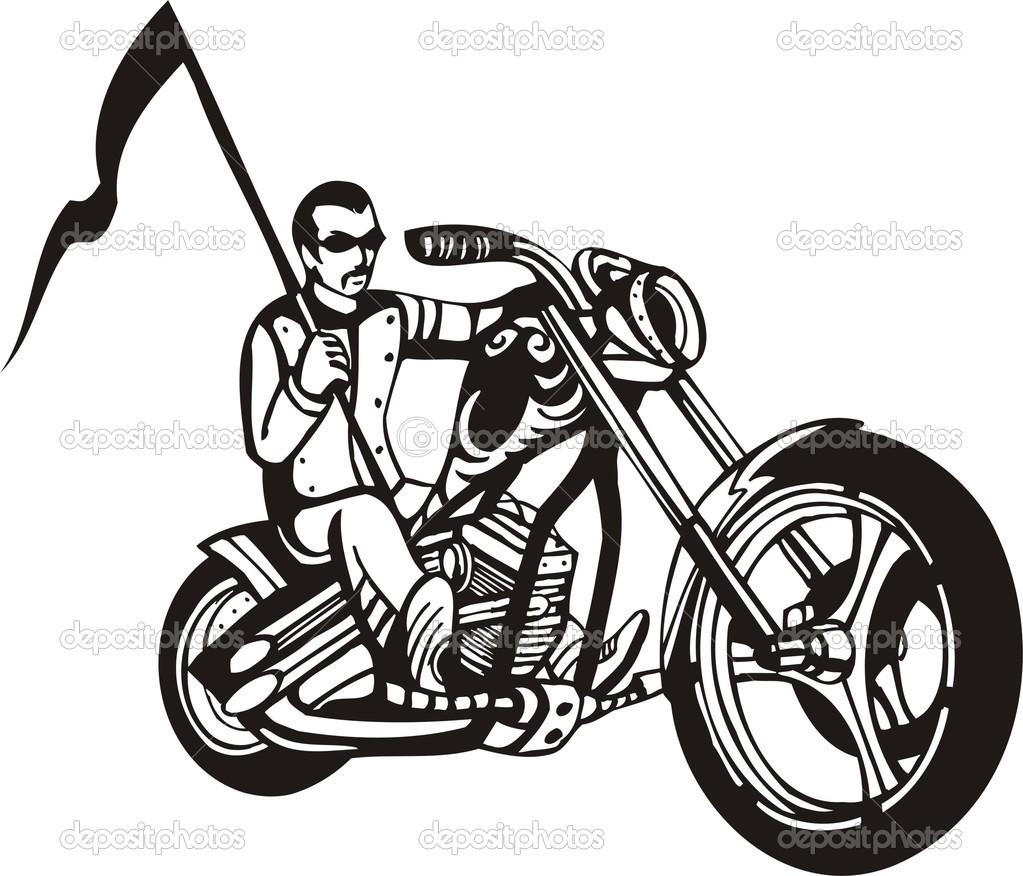 1023x876 Harley Motorcycle Clipart Clipart Panda
