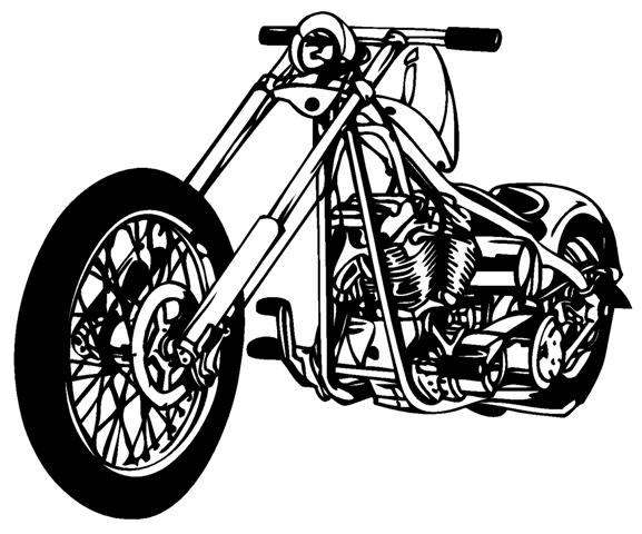 577x480 Chopper 2 Decal Sticker
