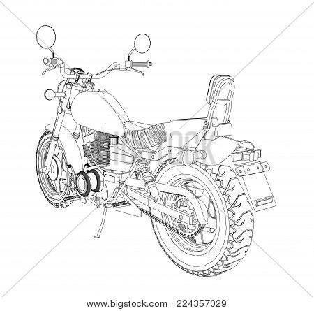 450x445 Chopper Images, Illustrations, Vectors