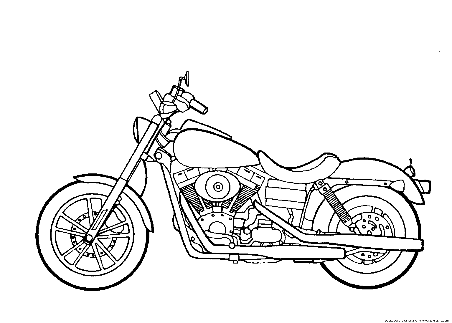Motorcycle Drawing at GetDrawings.com | Free for personal use ...