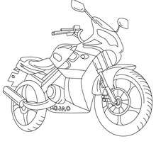 220x220 Motorcycle Coloring Pages