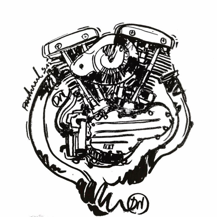 736x736 57 Best Sketch Engine Motorcycle Images On Engine