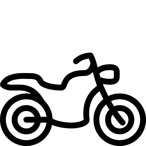512x512 Motorcycle Clipart Easy