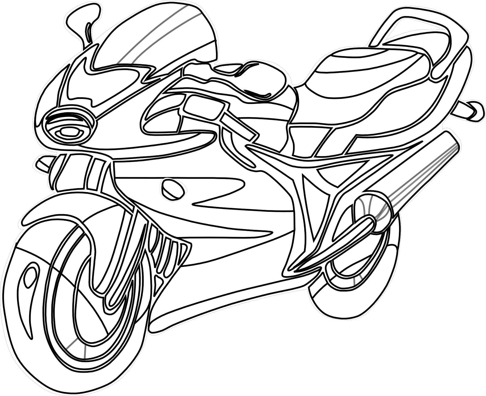 1600x1303 Colours Drawing Wallpaper Beautiful Motorcycle Coloring Colour
