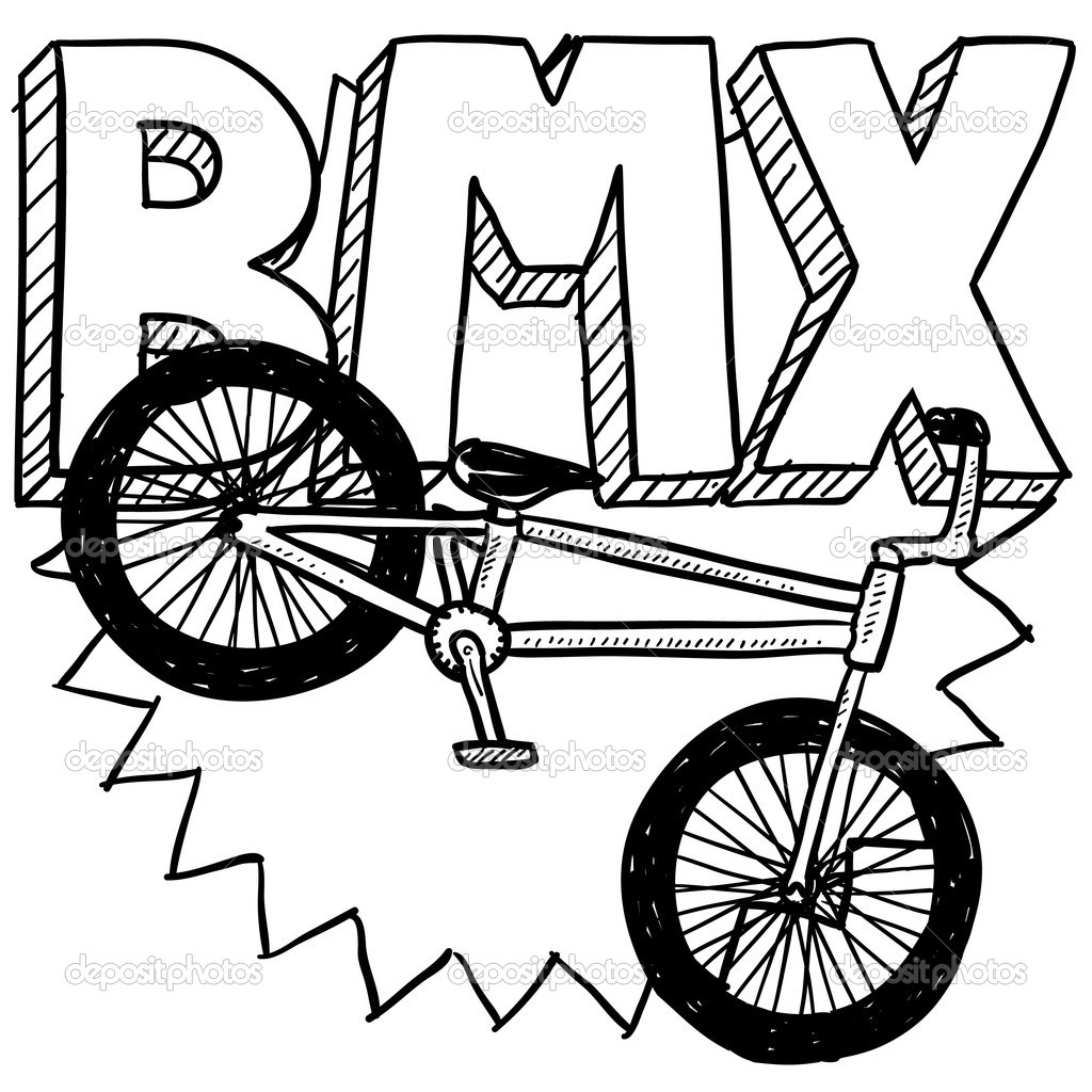 1024x1024 Bike Clipart Simple China Cps. How To Draw A Bike Step By Step How