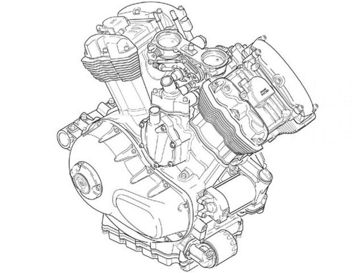 Motorcycle Engine Drawing: Cat Engine Diagram V8 At Ultimateadsites.com