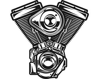 340x270 Motorcycle Engine Etsy