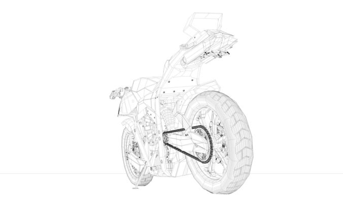 676x422 Futuristic Motorcycle 3d Cgtrader