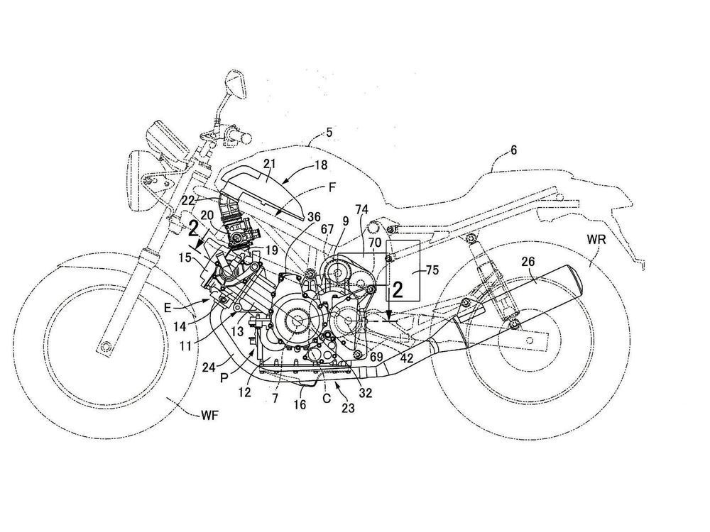 1000x750 The Batgen Electric Drawing The Line Motorcyclist