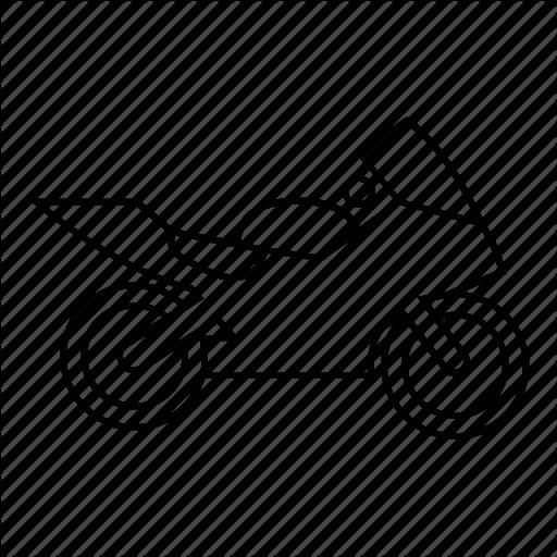 how to draw a race bike