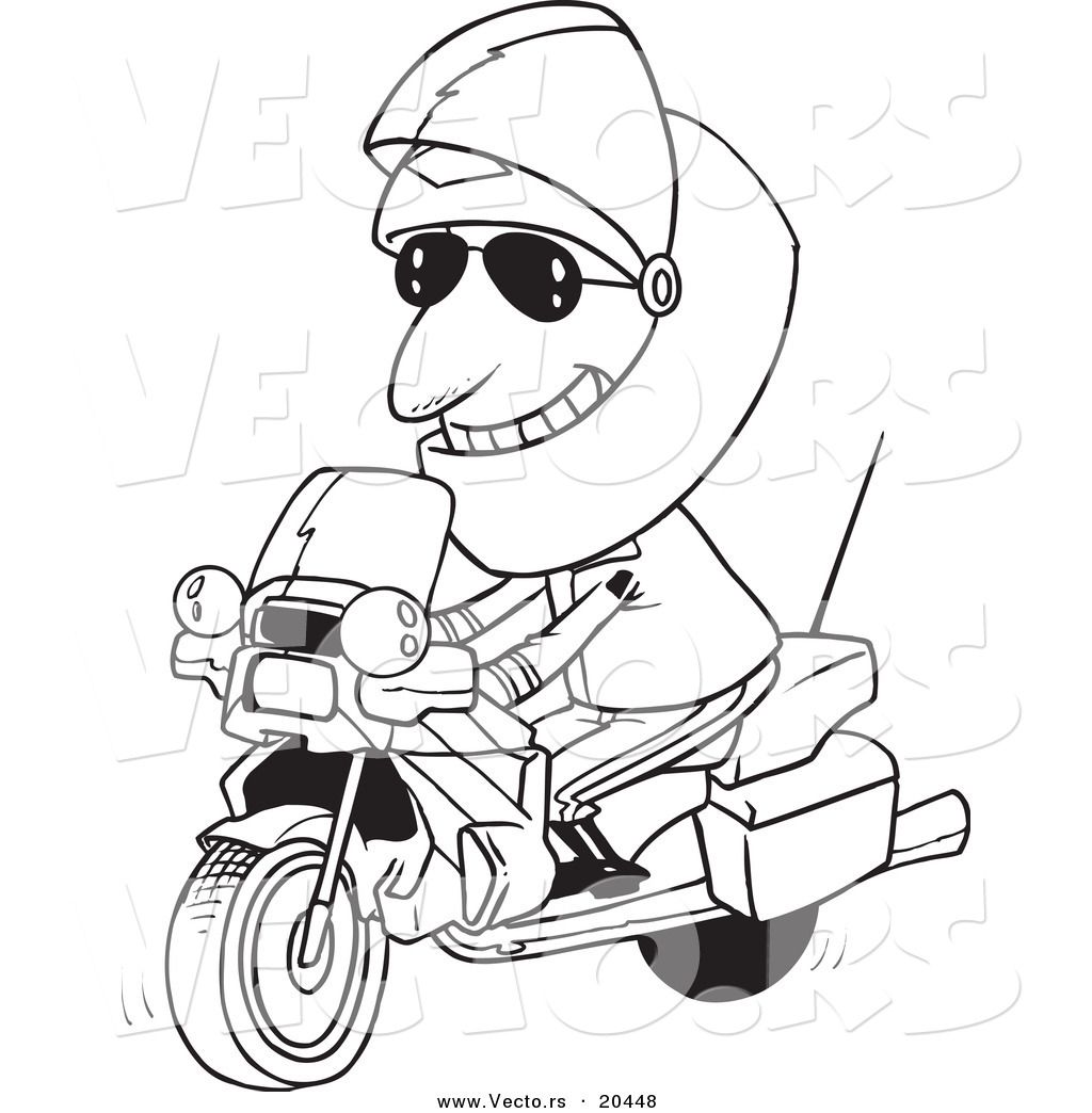 Motorcycle Outline Drawing At Getdrawings Com Free For Personal