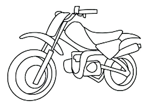 600x415 Dirt Bike Color Pages Kids Drawing Dirt Bike Coloring Page Dirt