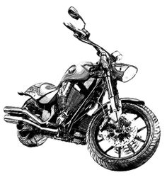 236x254 Victory Hammer Motorcycle Drawing. Custom Drawings From Your