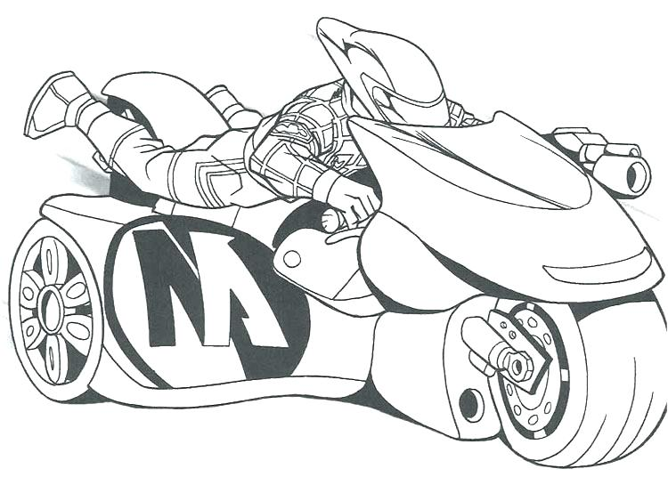 750x536 Coloring Pages Of Motorcycles