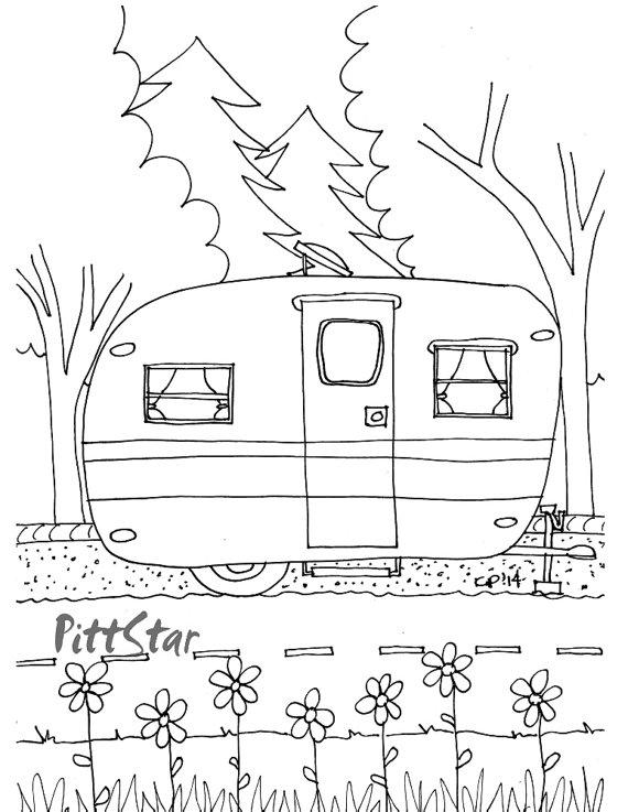 Motorhome Drawing
