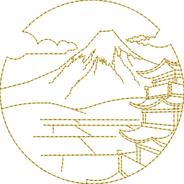 600x600 View To Mt Fuji