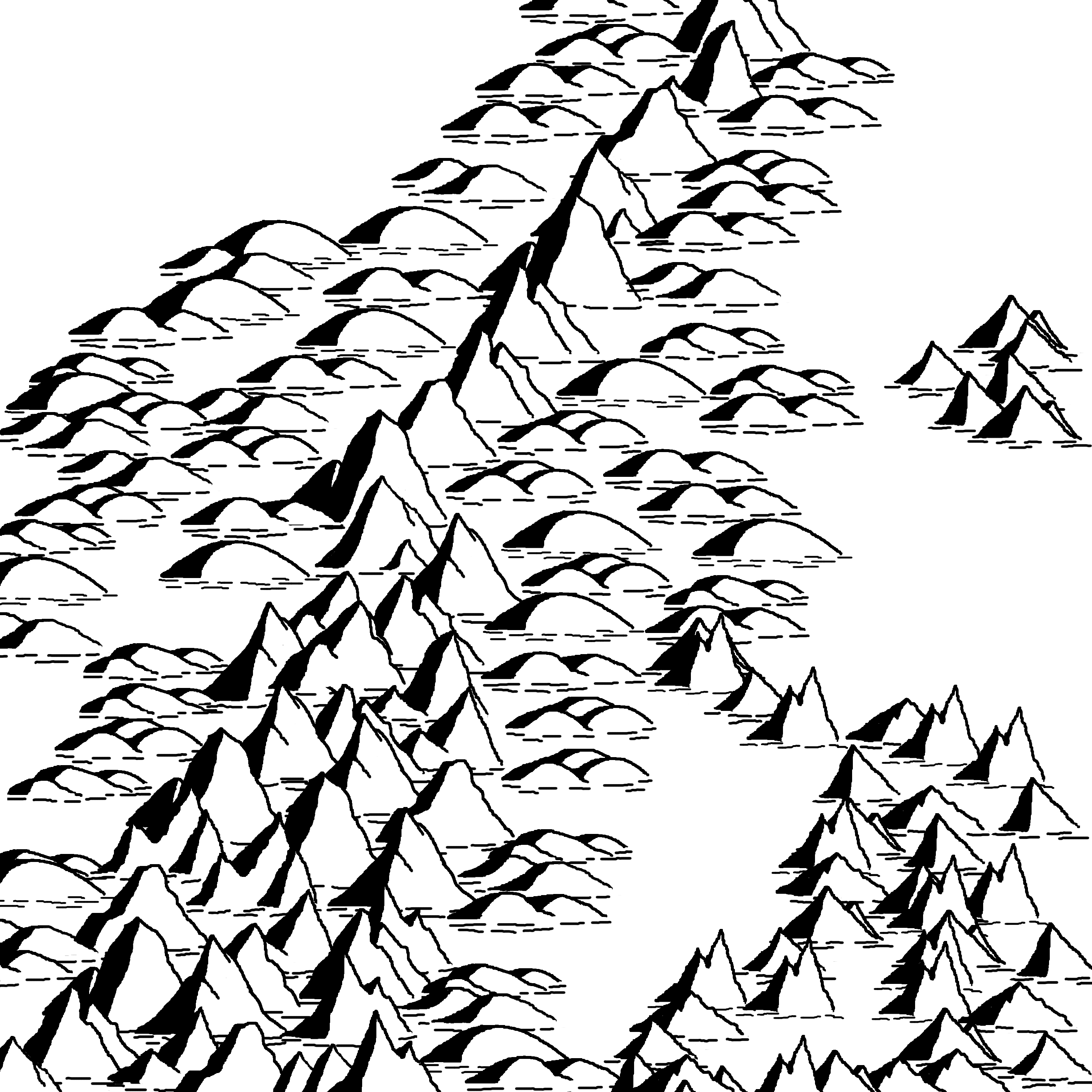 3000x3000 Makin' Mountains And Makin' Trees. Cartographic Principles
