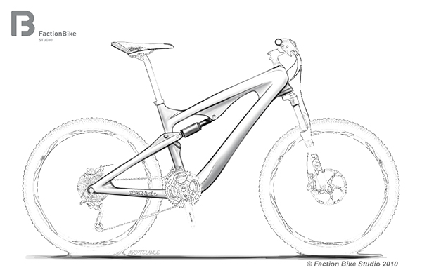 Mountain Bike Drawing at GetDrawings.com | Free for personal use ...