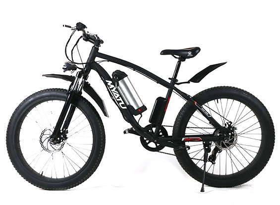 565x414 Myatu X7 Electric Mountain Bike 26 (Fat Tires) (Pas) (Us Plug)