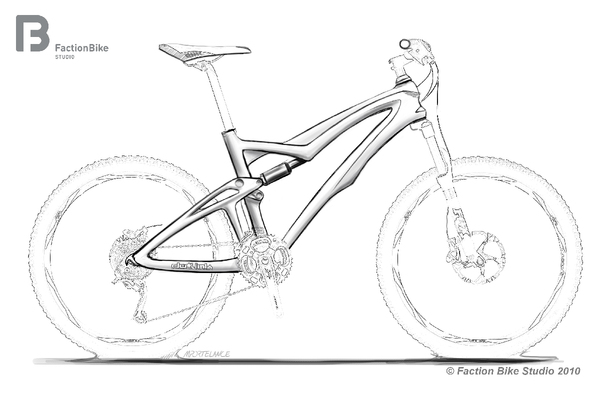 600x395 Mountain Bike Sketch Images Amp Pictures
