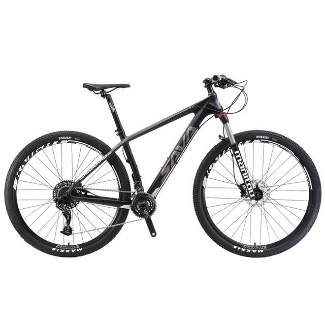 640x640 Sava Deck380 Mountain Bike 29 T800 Carbon Fiber Frame Mtb Bicycle