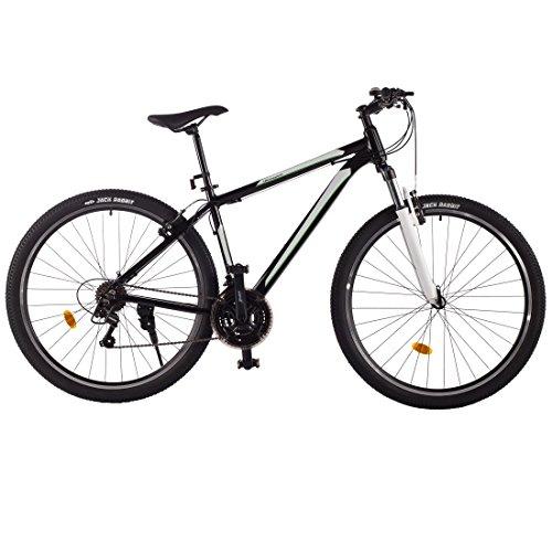 500x500 Ultrasport Unisex Aluminium Mountain Bike, Black, 29 Inch
