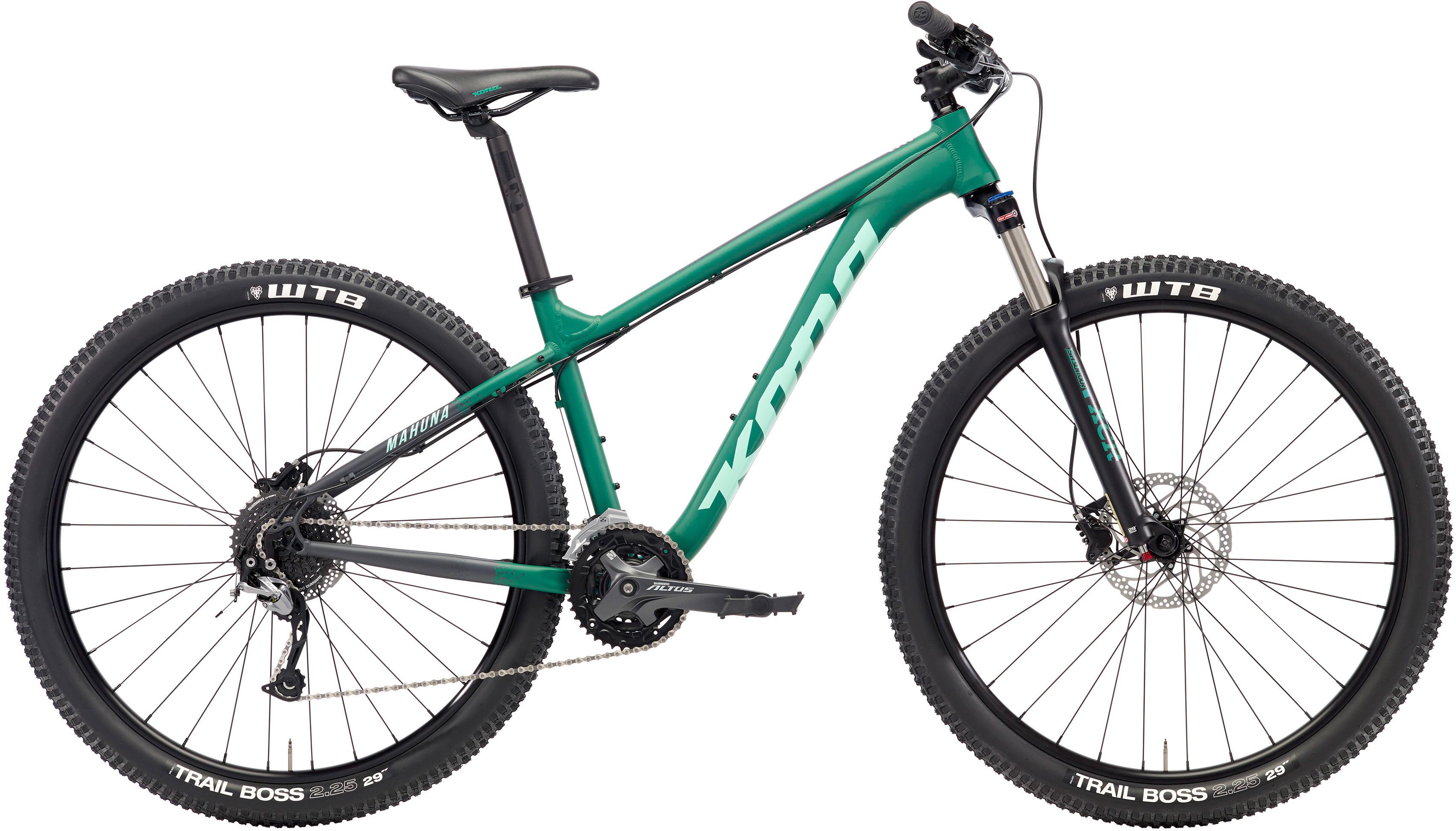 3408x1944 Wiggle Kona Mahuna (2018) Mountain Bike Hard Tail Mountain Bikes