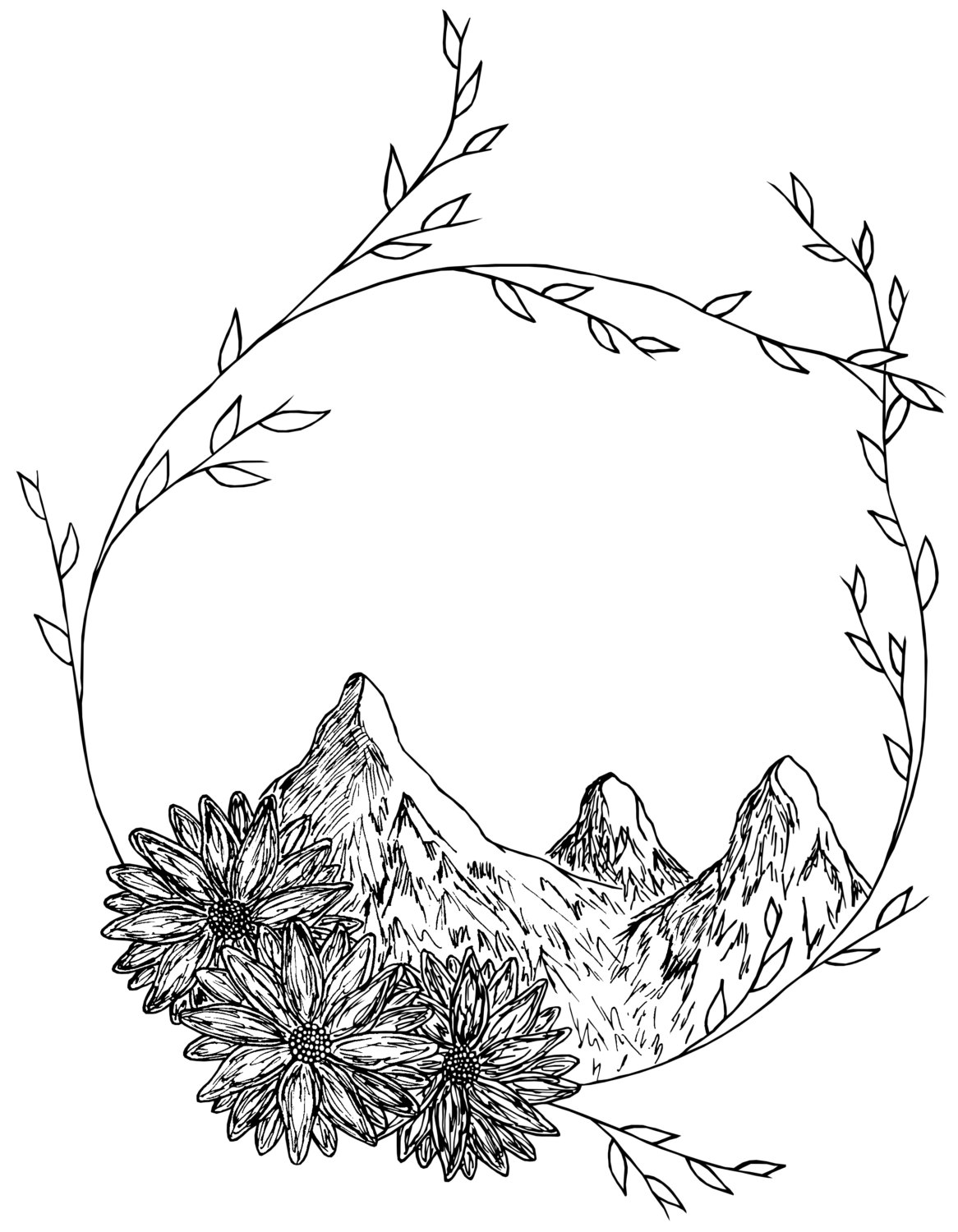 Mountain Drawing At Getdrawings Com Free For Personal Use Mountain