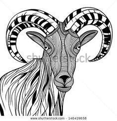 236x245 Goat Stock Vectors Amp Vector Clip Art Shutterstock Cool Ass