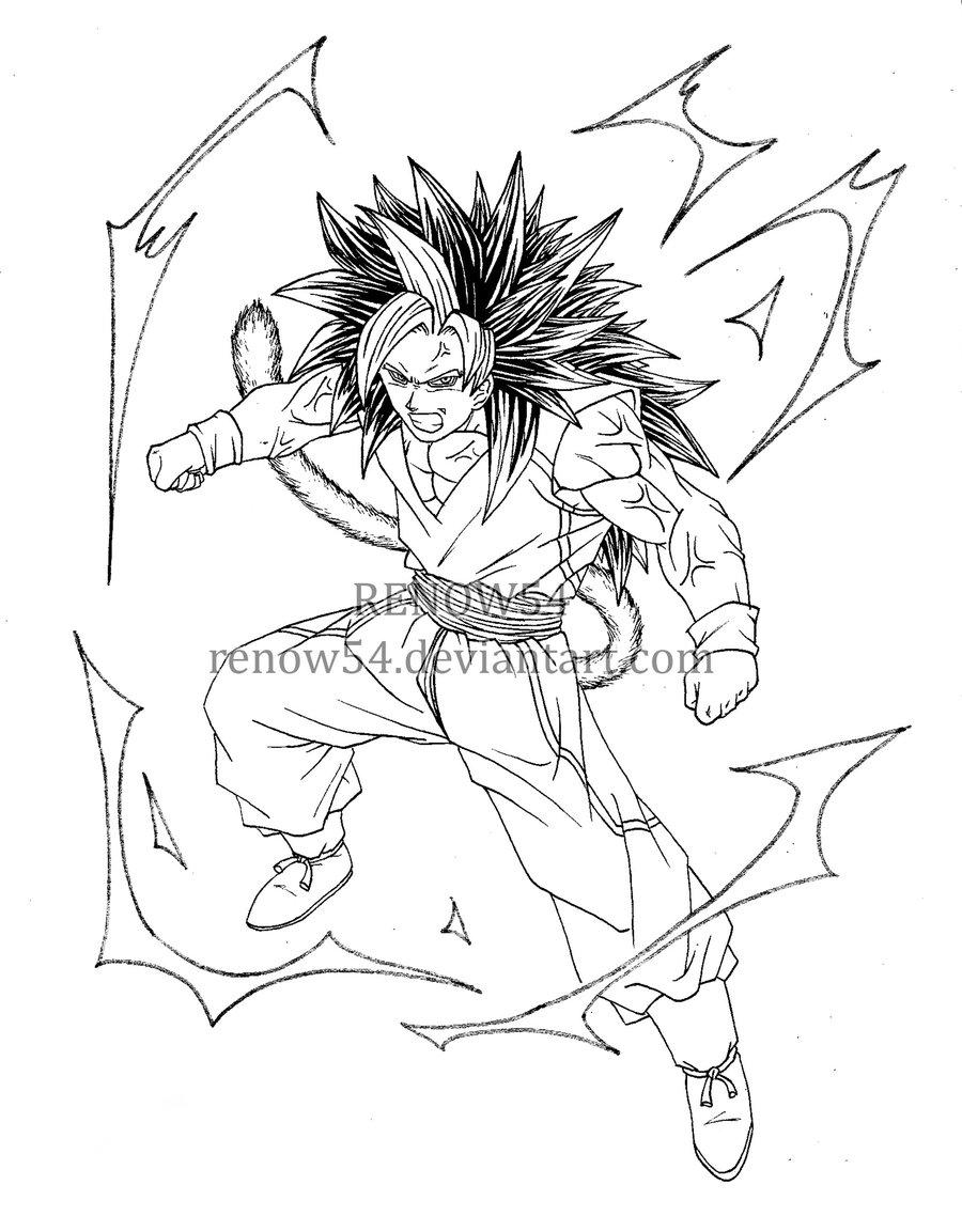 900x1153 Son Goku Super Saiyan 5 (Dragon Ball New Age) By Renow54