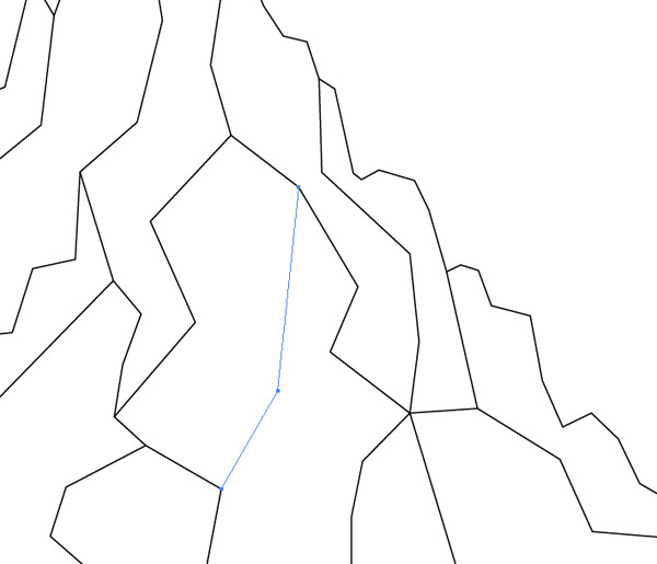 600x515 How To Create A Low Poly Art Mountain Illustration